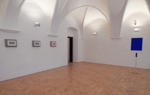 The abstract art leaves its background - exhibition view