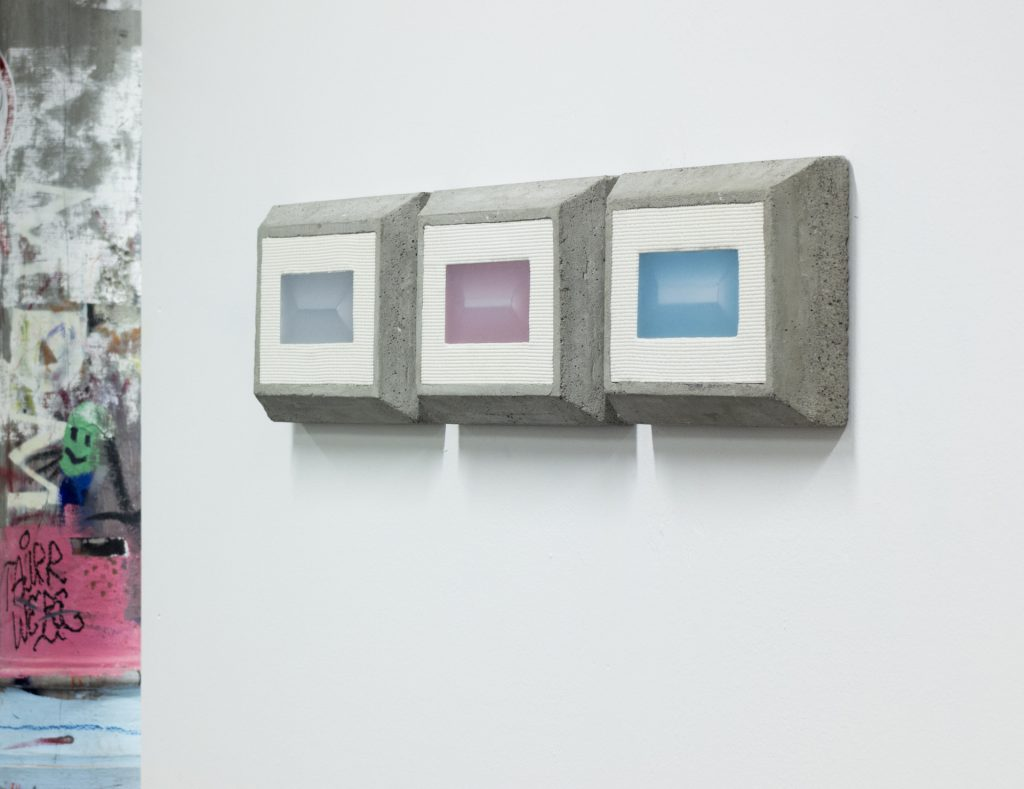 Andy Zorino - Life of a geometric rustication - triptych